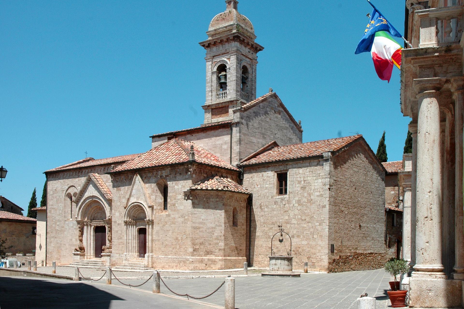 San Quirico d'Orcia-Collegiata