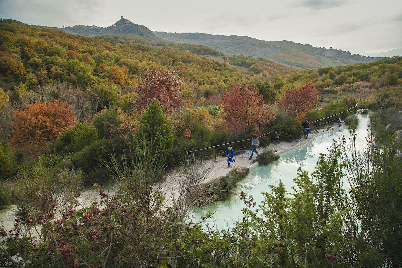 Bagno Vignoni Parco dei Mulini - Parco della Val d\'Orcia